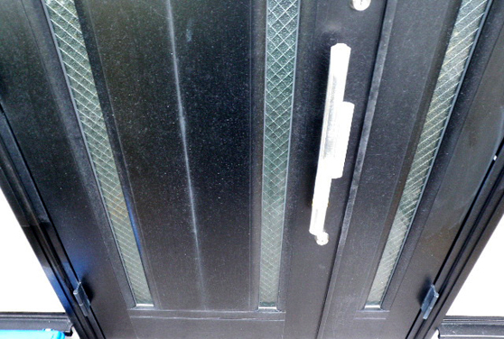 アルミ玄関ドア 施工前